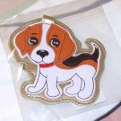 LUGGAGE TAG BEAGLE PUPPY DOG NEW GANZ IDENTIFY YOUR LUGGAGE EASILY