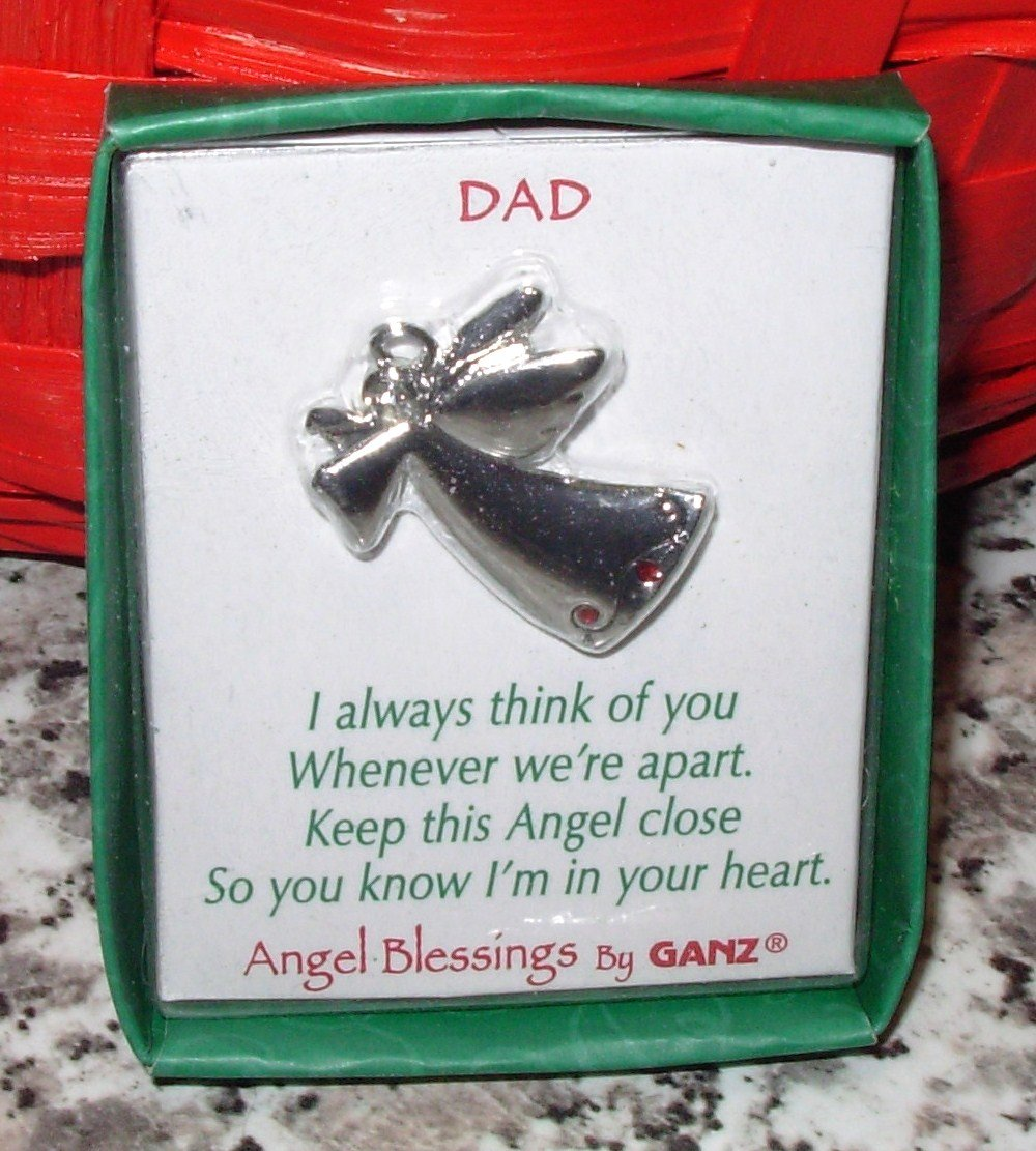ANGEL BLESSINGS BY GANZ ANGEL PENDANT WITH CRYSTAL NEW GIFT JEWELRY ITEM