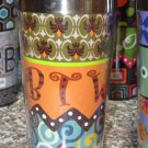 TEXT TRAVEL MUGS INSULATED NEW GANZ BTY BY THE WAY