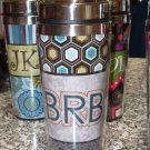 TRAVEL MUGS NEW GANZ INSULATED TEXT MUGS SAYS BRB BE RIGHT BACK