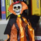 SKELETON COSTUME WINE BOTTLE COVER AND CORK BOTTLE STOPPER NEW GANZ HALLOWEEN