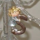 INITIAL ANGEL ORNAMENT INITIAL S CHRISTMAS HOME DECOR HOLIDAY BIRTHDAY NEW GANZ