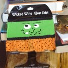 WINE GLASS SKIRT WICKED FRANK HALLOWEEN ADJUSTABLE WASHABLE NEW GANZ