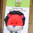 BABY GANZ RED LION PACIFIER CLIP LOOKIELOOS NEW
