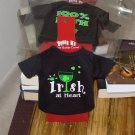 IRISH SASSY TEES WINE BOTTLE COVERS SAYS IRISH AT HEART NEW GANZ BAR HOME GIFT