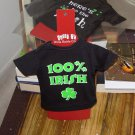 IRISH SASSY TEES WINE BOTTLE COVERS SAYS 100% IRISH NEW GANZ BAR HOME GIFT