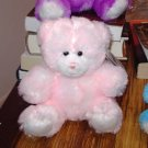 PRIMROSE BEAR PINK PLUSH STUFFED ANIMAL NEW GANZ TEDDY BEAR