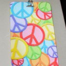 3D LUGGAGE TAG PEACE SYMBOLS PVC NEW GANZ TRIP TRAVEL VACATION NOVELTY