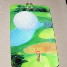 3D LUGGAGE TAG GOLF THEME PVC NEW GANZ TRIP TRAVEL VACATION NOVELTY