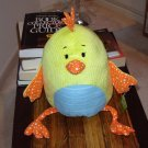 HENNIE PLUSH STUFFED YELLOW CHICKEN BABY GANZ TOY NEW