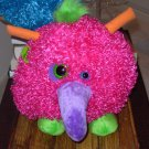 BOOGITY BOOS WONKY EYE STUFFED PLUSH SOUND TOY NEW GANZ HOT HOT PINK