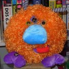 BOOGITY BOOS THREE EYES STUFFED PLUSH SOUND TOY NEW GANZ ORANGE