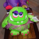 LARGE OOGARELLA MARSHA GREEN 10 INCH PLUSH STUFFED OGRE DOLL NEW GANZ