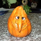 AUTUMN FUNNY FACE FIG GOURD PUMPKIN FIGURINES HOME DECOR HALLOWEEN THANKSGIVING NEW GANZ