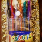 GEL COLOR PEN SCENTED SIX PENS GLITTER 6 DIFFERENT COLORS & SCENTS Free Shipping Worldwide!