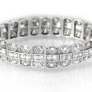 Swarovski Bracelet With Clear Crystals