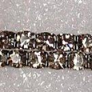 2 Strand Black Diamond Bracelet