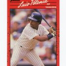 1990 Donruss Baseball #547 Luis Polonia - New York Yankees
