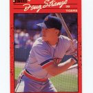 1990 Donruss Baseball #535 Doug Strange RC - Detroit Tigers