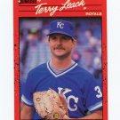 1990 Donruss Baseball #534 Terry Leach - Kansas City Royals