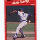 1990 Donruss Baseball #522 Mike Harkey - Chicago Cubs