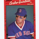1990 Donruss Baseball #517 Carlos Quintana - Boston Red Sox