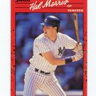 1990 Donruss Baseball #514 Hal Morris - New York Yankees ExMt