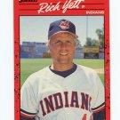 1990 Donruss Baseball #509 Rich Yett - Cleveland Indians