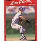 1990 Donruss Baseball #508 Mike Stanton RC - Atlanta Braves