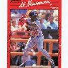 1990 Donruss Baseball #506 Al Newman - Minnesota Twins