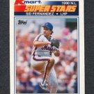 1990 K-Mart Superstars Baseball #11 Sid Fernandez - New York Mets