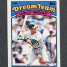 1989 K-Mart Dream Team Baseball #04 Walt Weiss - Oakland Athletics