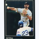 1993 Pinnacle Baseball #355 Jeff King - Pittsburgh Pirates