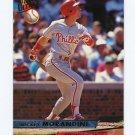1993 Ultra Baseball #091 Mickey Morandini - Philadelphia Phillies