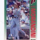1992 Fleer Baseball #539 Mickey Morandini - Philadelphia Phillies