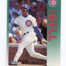 1992 Fleer Baseball #376 George Bell - Chicago Cubs