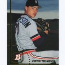 1994 Bowman Baseball #649 Justin Thompson - Detroit Tigers