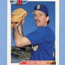 1992 Bowman Baseball #398 Randy Kramer - Seattle Mariners