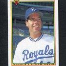 1990 Bowman Baseball #368 Storm Davis - Kansas City Royals