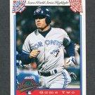 1993 Score Baseball #520 Ed Sprague WS - Toronto Blue Jays
