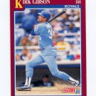 1991 Score Rookie/Traded Baseball #018T Kirk Gibson - Kansas City Royals