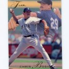 1993 Flair Baseball #267 Chris Bosio - Seattle Mariners