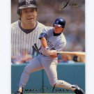 1993 Flair Baseball #250 Matt Nokes - New York Yankees