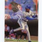 1993 Flair Baseball #221 Brian McRae - Kansas City Royals