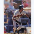 1993 Flair Baseball #156 Harold Reynolds - Baltimore Orioles