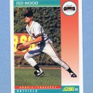 1992 Score Baseball #768 Ted Wood - San Francisco Giants
