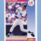 1992 Score Baseball #613 Kevin Maas - New York Yankees