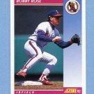1992 Score Baseball #558 Bobby Rose - California Angels
