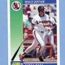 1992 Score Baseball #535 Wally Joyner - California Angels