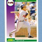 1992 Score Baseball #386 Mark Lemke - Atlanta Braves